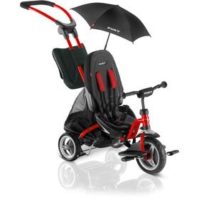 Puky CAT S6 Ceety Triciclo Bambino, rosso/nero